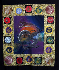 Dragons quilt - Dragon Quilter