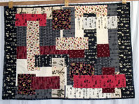 Kanji quilt - Dragon Quilter