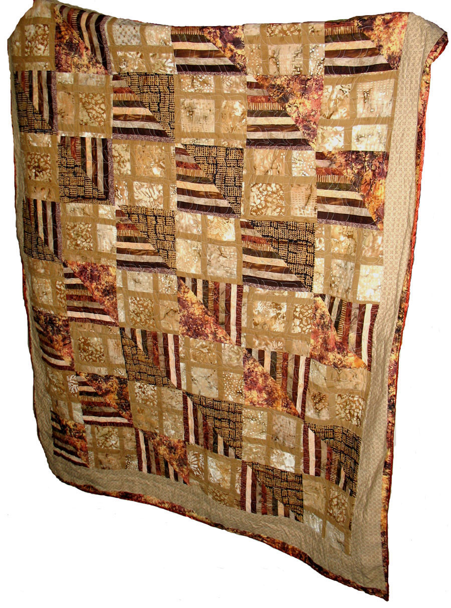 African Influence Quilt