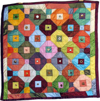 dragon quilter quilt - all buttoned up