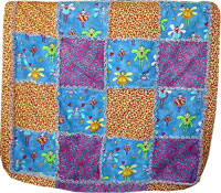 Twin A Baby quilt - Dragon Quilter
