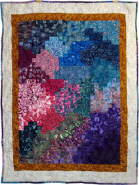 Landscape Colors quilt - Dragon Quilter